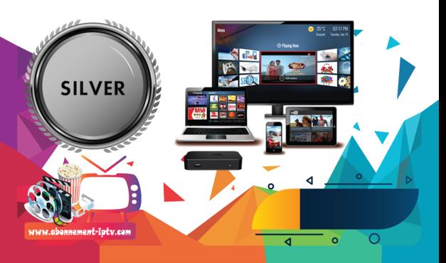 Abonnement IPTV Silver