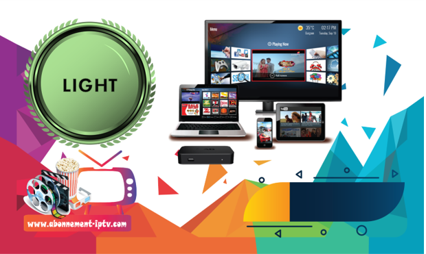 Abonnement IPTV Light